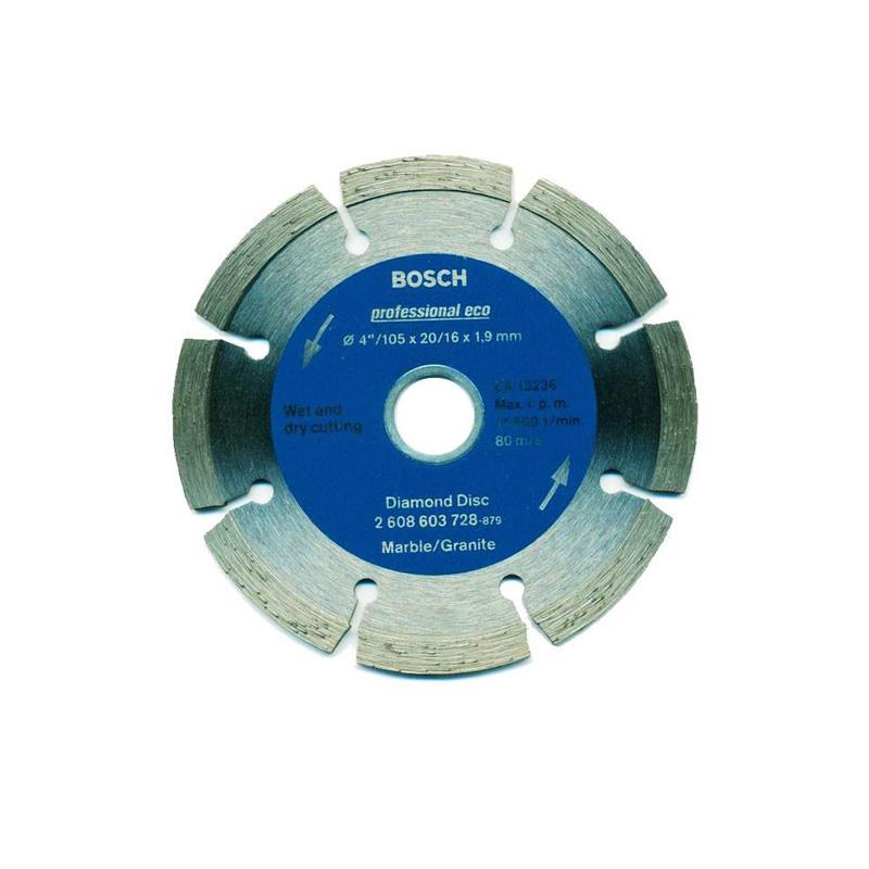 Đĩa cắt kim cương 105xØ20/16mm granite BOSCH 2608603728