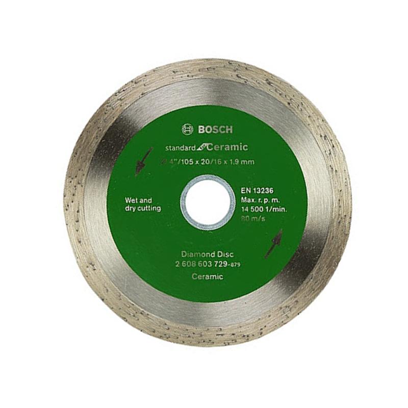 Đĩa cắt kim cương 105xØ20/16mm BOSCH 2608603729