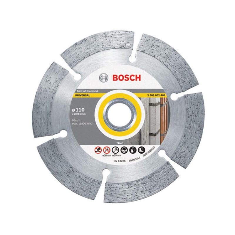 Đĩa cắt kim cương đa năng 110xØ20/16mm BOSCH 2608602468