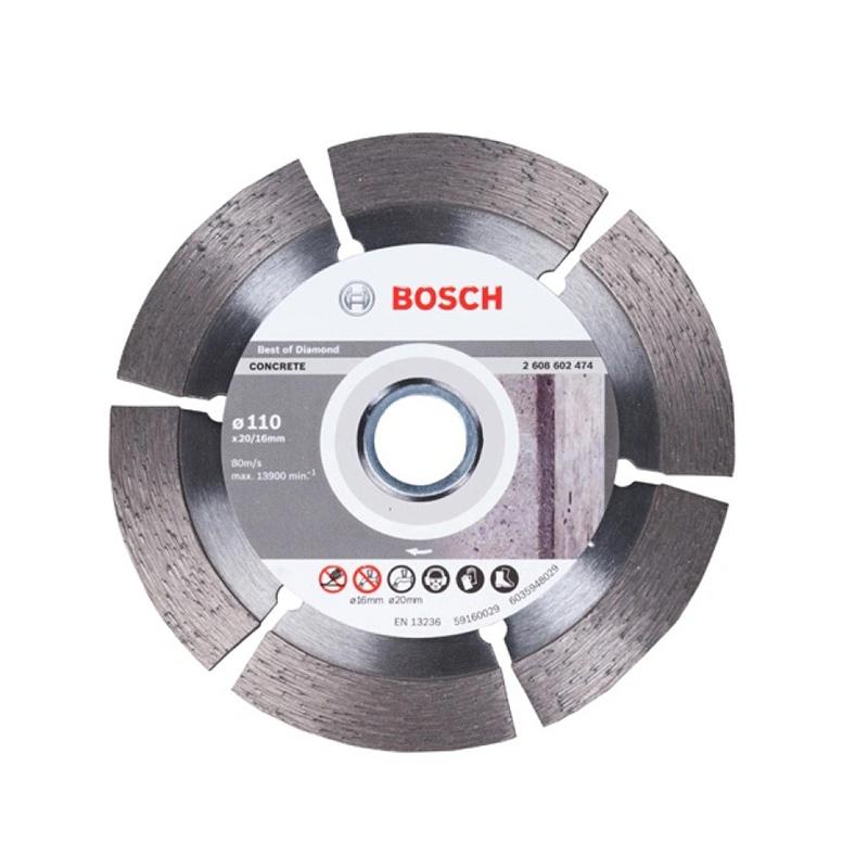 Đĩa cắt kim cương 110xØ20/16mm BOSCH 2608602474