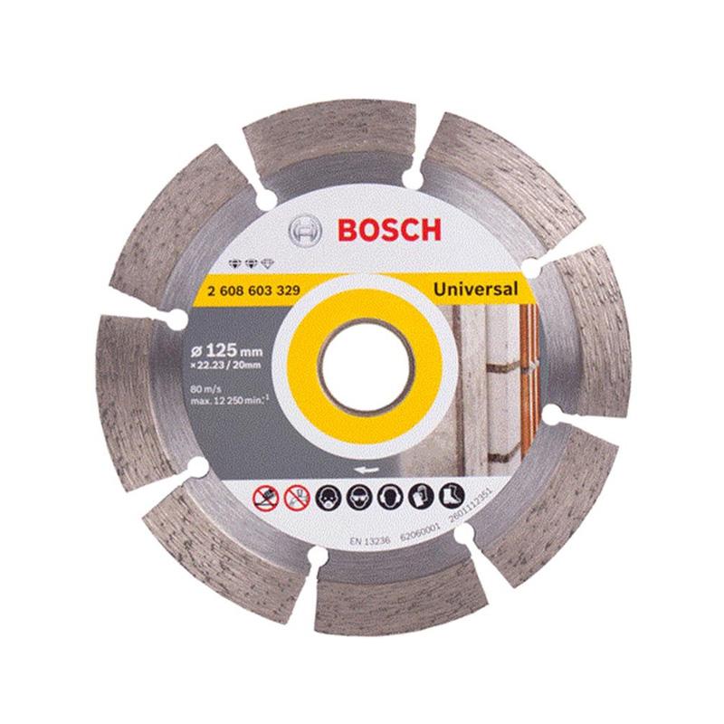 Đĩa cắt kim cương đa năng 125x22.2mm BOSCH 2608603329