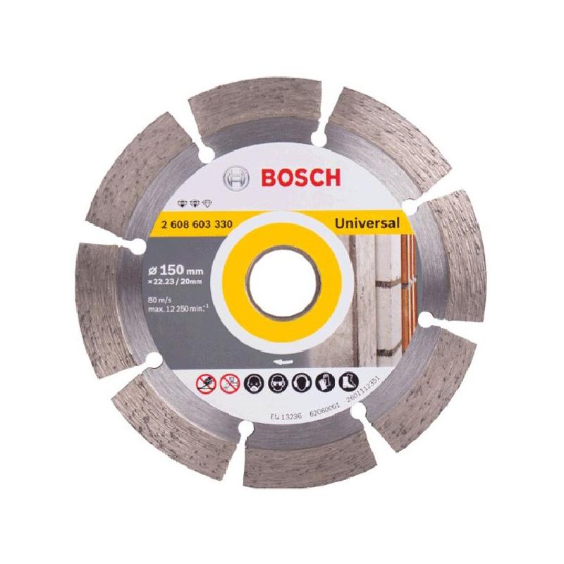 Đĩa cắt kim cương đa năng 150x22.2mm BOSCH 2608603330