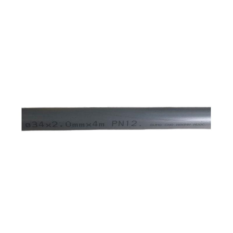 Ống nhựa uPvc Ø34x2.0mm  dài 4m BÌNH MINH 001PVC00P3420Y