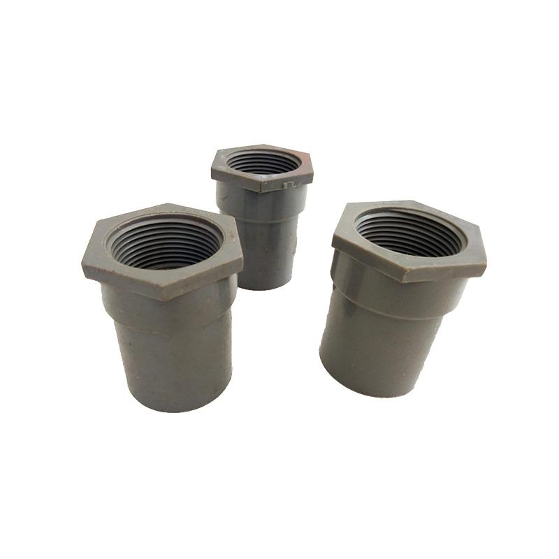 Nối ren trong Pvc 42 dày BÌNH MINH 001PVC0DRT42Y
