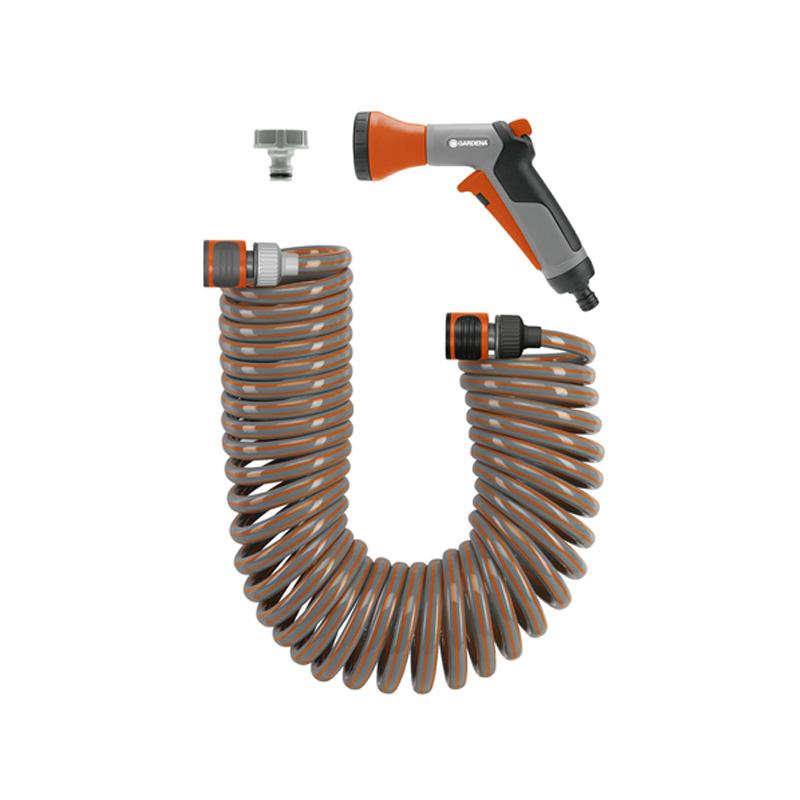 Bộ ống tưới xoắn co dãn 10m Gardena 04647-20