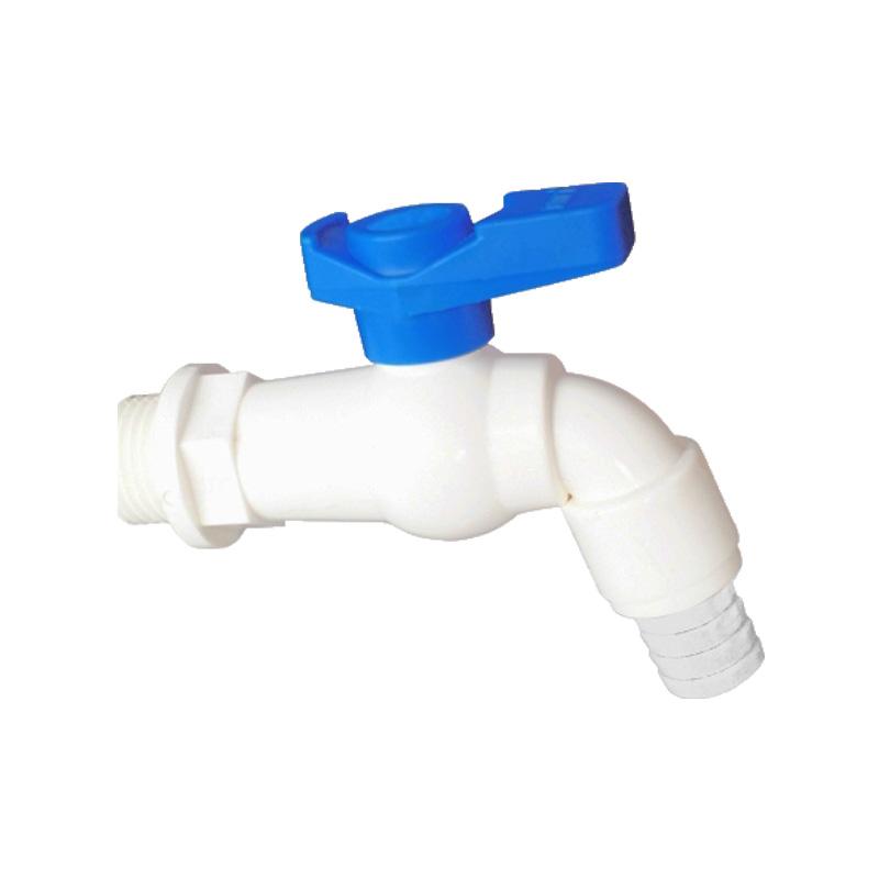 Vòi nhựa tay gạt 90 độ Minh Hòa