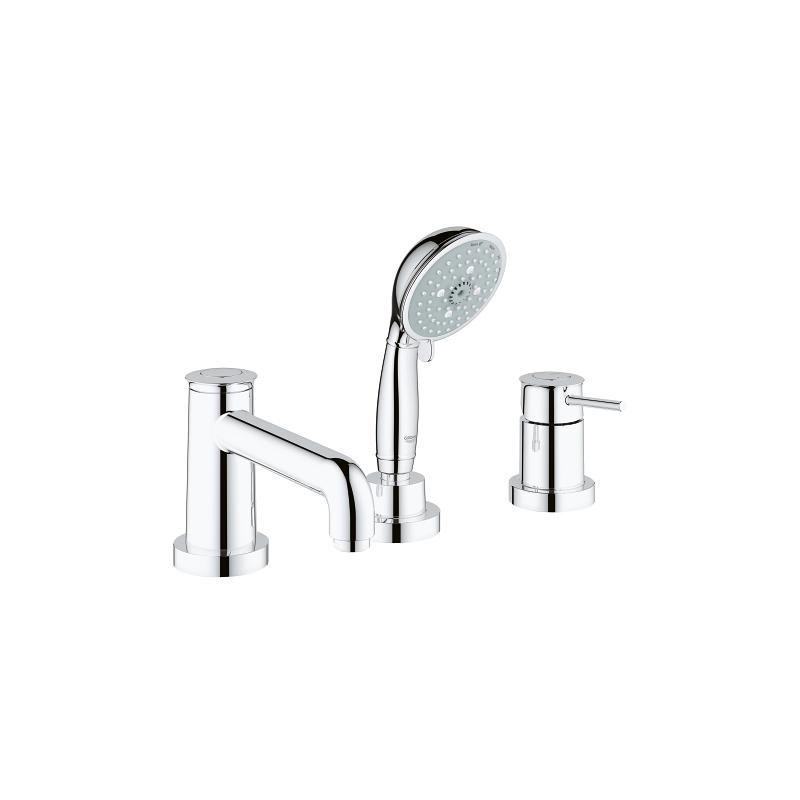 Vòi bồn tắm 3 lỗ BauClassic GROHE 25118000