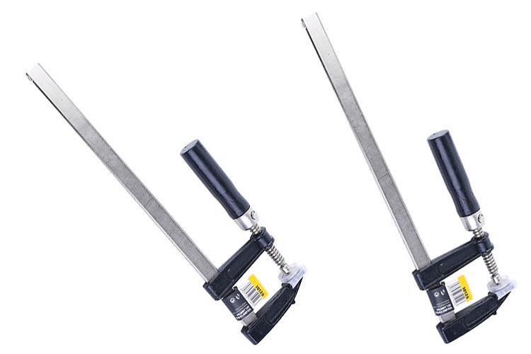 Cảo chữ F cán gỗ 120x300mm Tolsen 10151