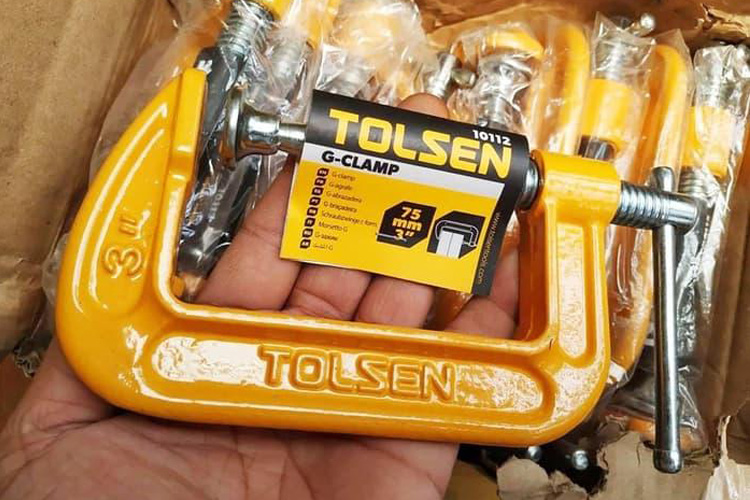 Cảo chữ G 3 inch/750mm Tolsen 10112