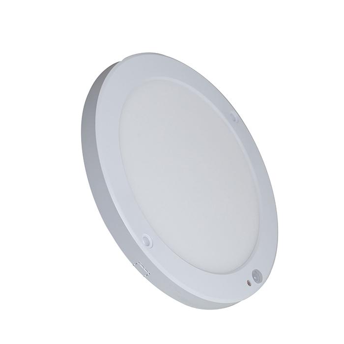 Đèn LED Ốp trần Mỏng Tròn Cảm biến 18W