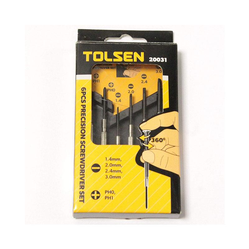 Bộ 6 cây tua vít sửa đồng hồ Tolsen 20031