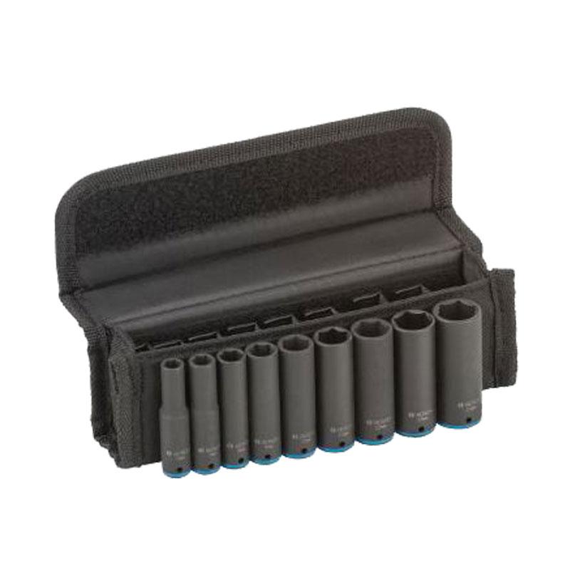 Bộ đầu khẩu 9 chiếc 50mm 1/4'' 6,7,8,9,10,11,12,13,14 BOSCH 2608551097
