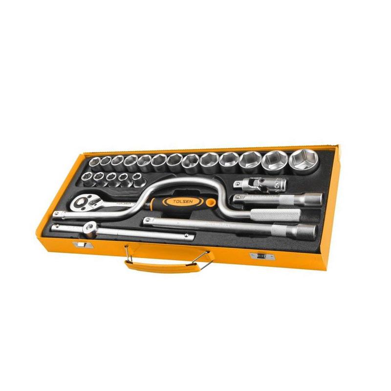 Bộ típ 24 chi tiết 1/2 inch Tolsen 15141