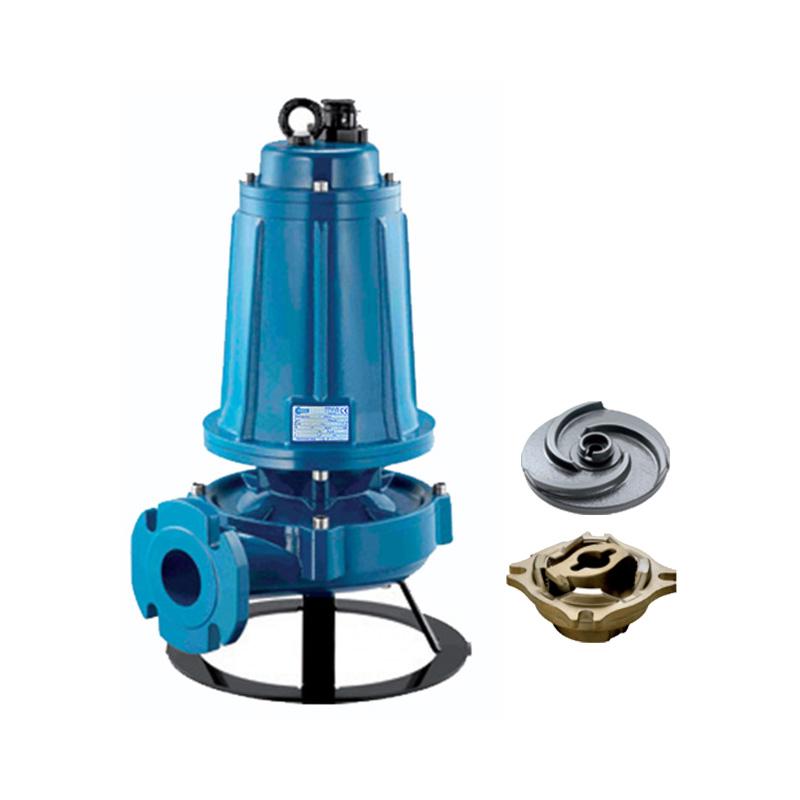 Máy bơm nước thải cắt rác 4.0KW/5.5HP Pentax DTRT 550