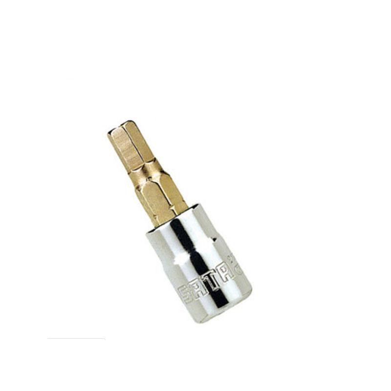 Đầu tuýp mũi lục giác 1/4 inches 8mm Sata 21205