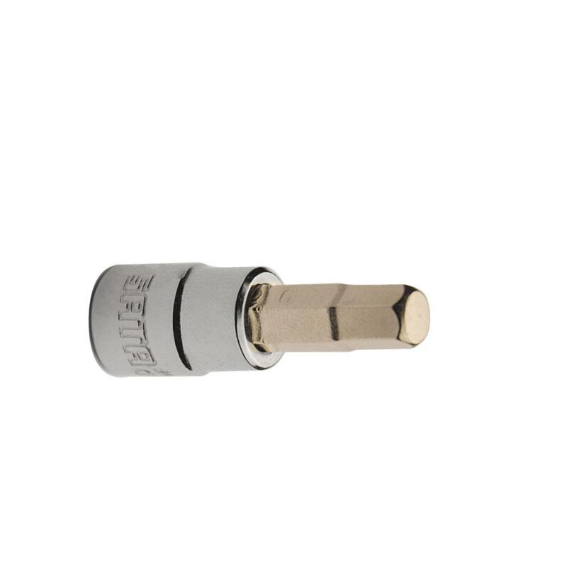 Đầu tuýp mũi lục giác 1/4 inches 4mm Sata 21202