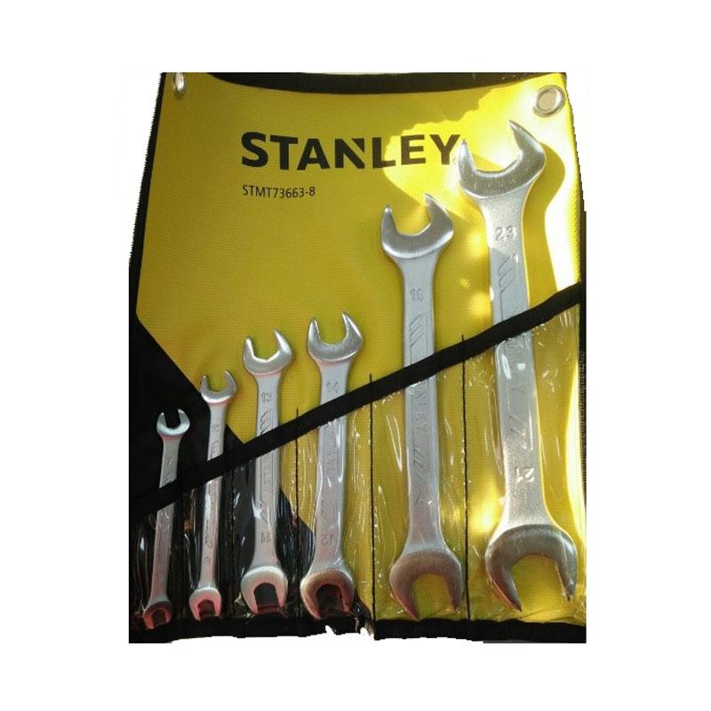 Bộ cờ lê 2 đầu miệng 6 chi tiết Stanley STMT73663-8