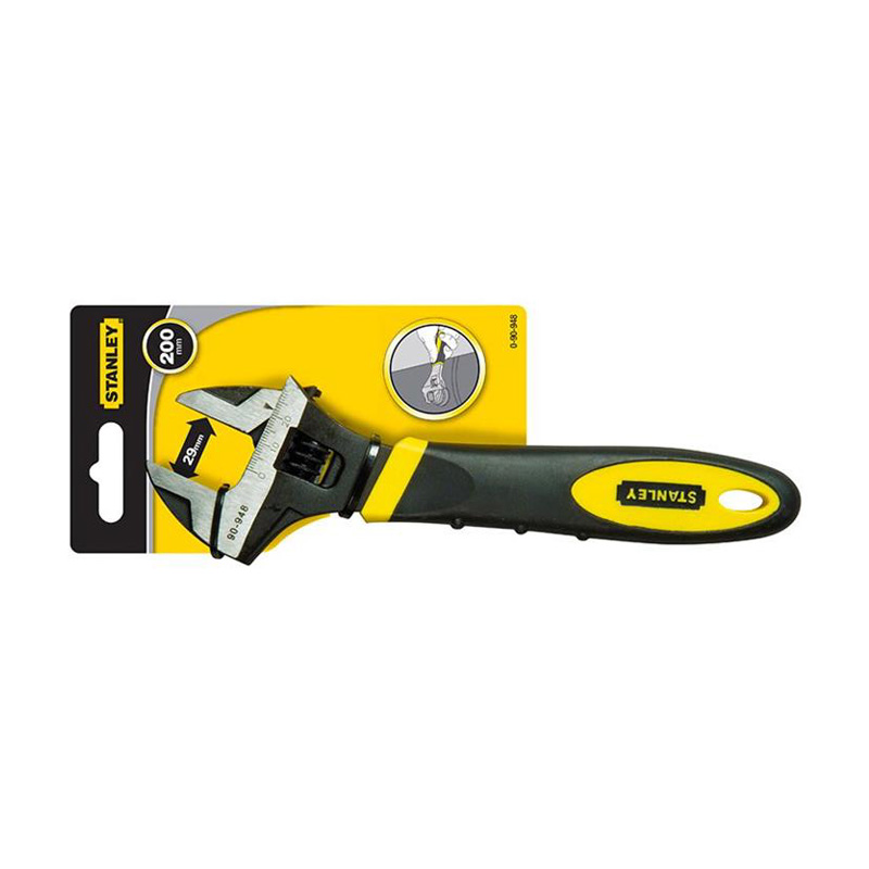 Mỏ lết maxsteel 8 inches/200mm Stanley 90-948-22