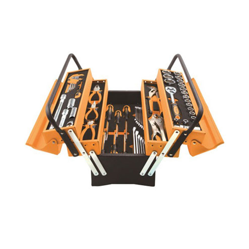 Thùng 3 tầng kèm bộ dụng cụ 60 món Tolsen 85401