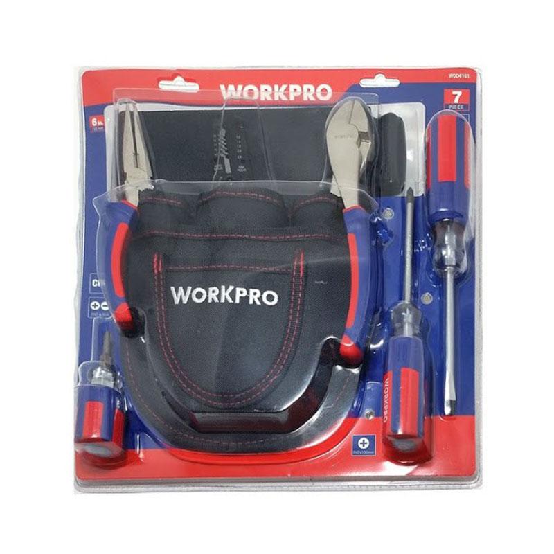 Bộ công cụ 7 chi tiết WORKPRO W004161