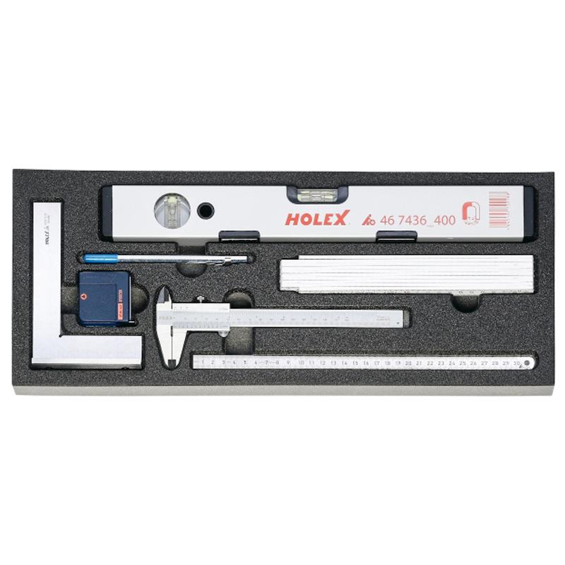 Bộ dụng cụ đo 7 chi tiết Holex 915001 7