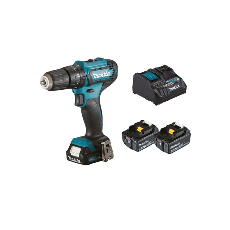 Máy khoan búa và vặn vít pin 12V Makita HP333DNX10