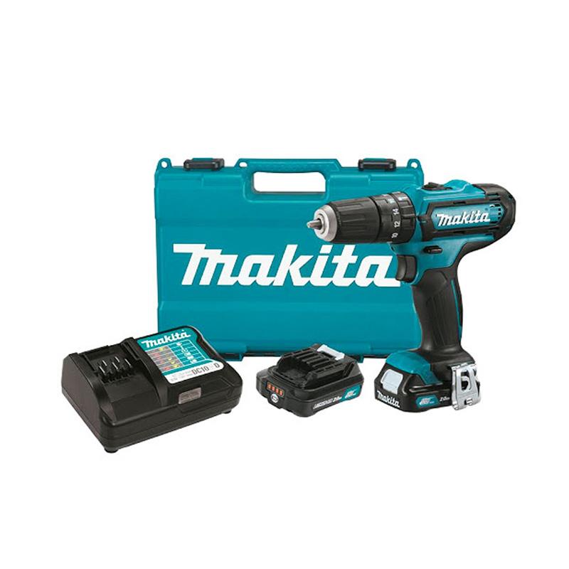 Máy khoan búa, vặn vít pin 12V/2.0Ah Makita HP333DSAE