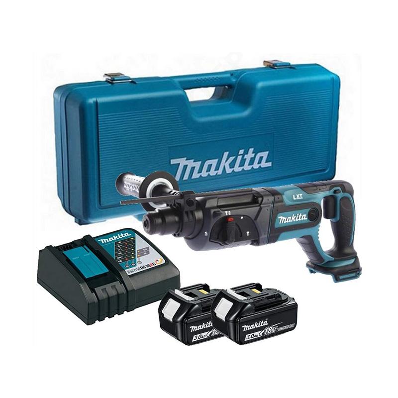Máy khoan bê tông pin 18V/3.0Ah Makita DHR241RFE