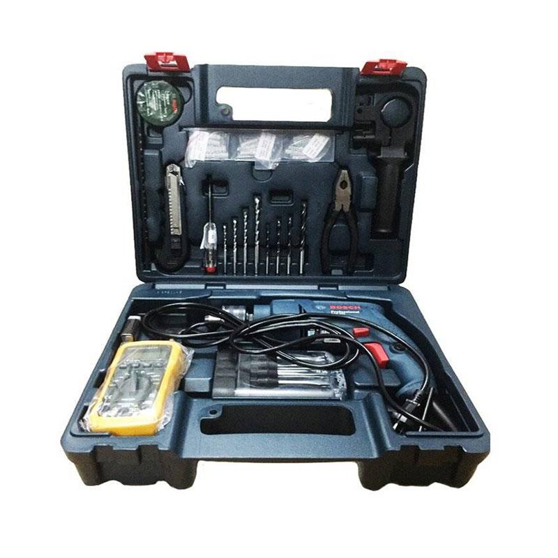 Bộ máy khoan động lực kèm 80 món phụ kiện ngành điện BOSCH 06011A15K2