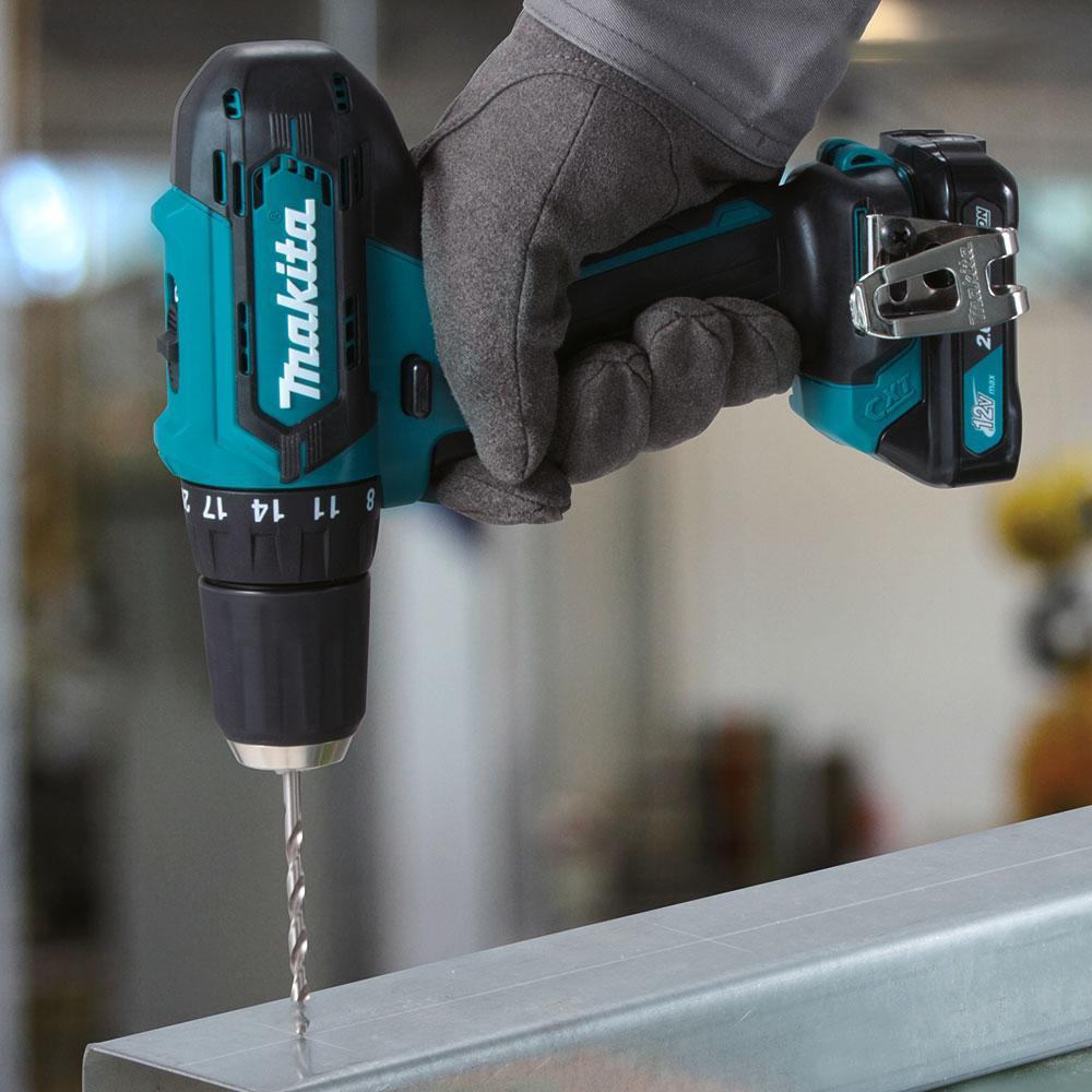 Máy khoan và vặn vít dùng pin 12V Makita HP331DZ
