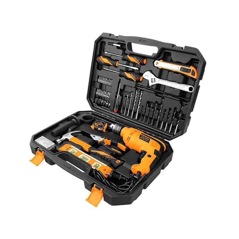Bộ máy khoan 710W kèm 94 phụ kiện X-tip Tolsen 79685