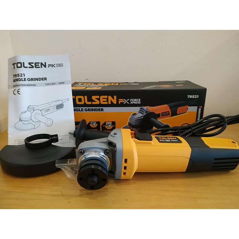 Máy mài góc 950W/125mm X-tip Tolsen 79521
