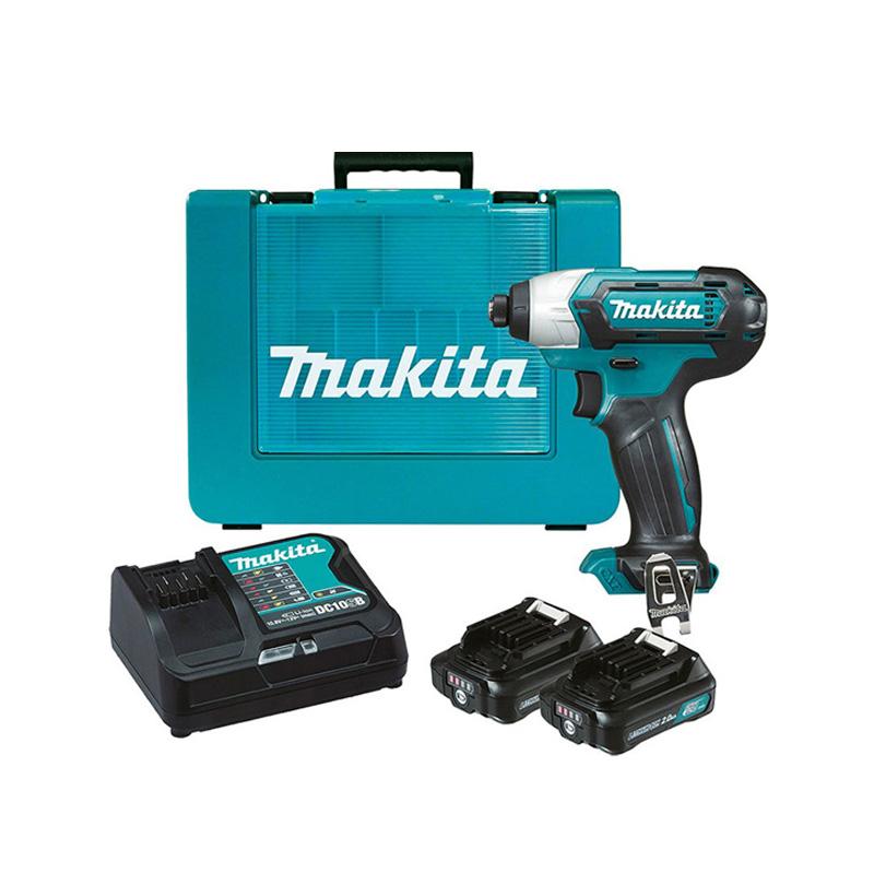 Máy khoan và vặn vít dùng pin 12V Makita TD110DSYE
