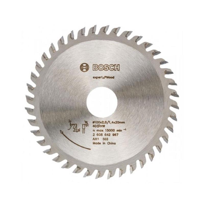 Lưỡi cưa gỗ 40 răng 100mm BOSCH 2608642967