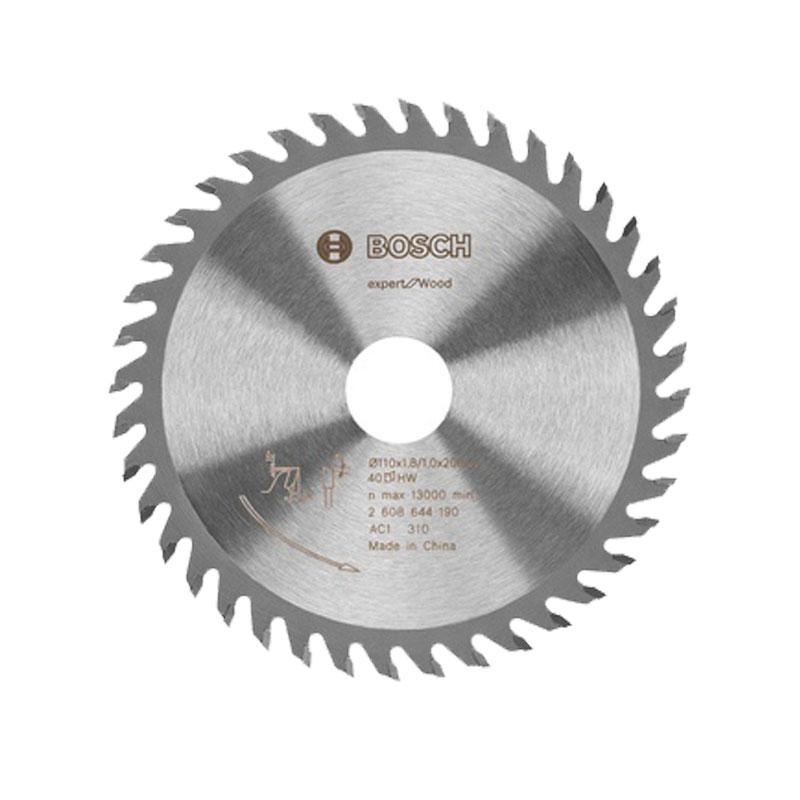 Lưỡi cưa gỗ 40 răng 110x20mm BOSCH 2608644190