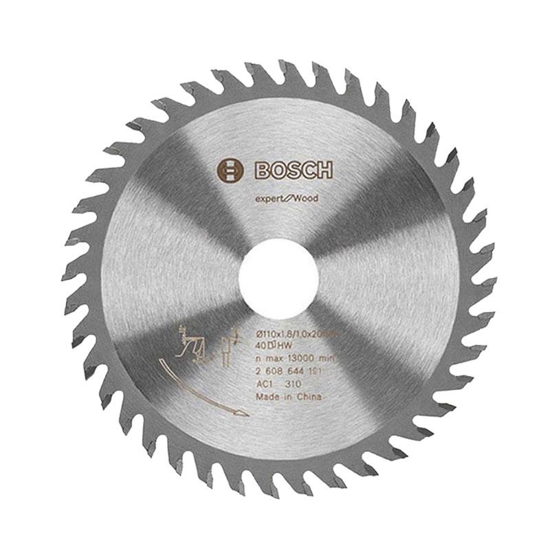 Lưỡi cưa gỗ 40 răng 125x20mm BOSCH 2608644191