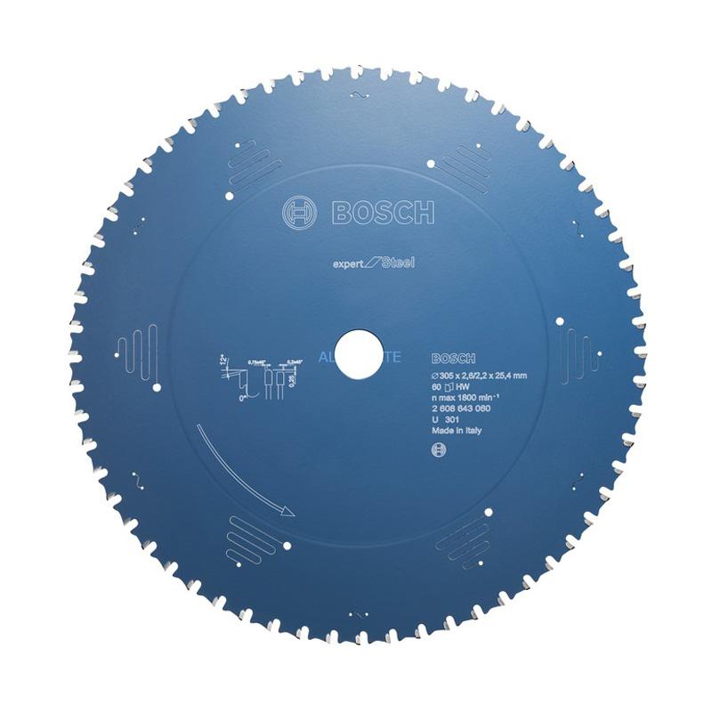 Lưỡi cắt sắt EU range 60 răng 305x25.4x2.6mm BOSCH 2608643060