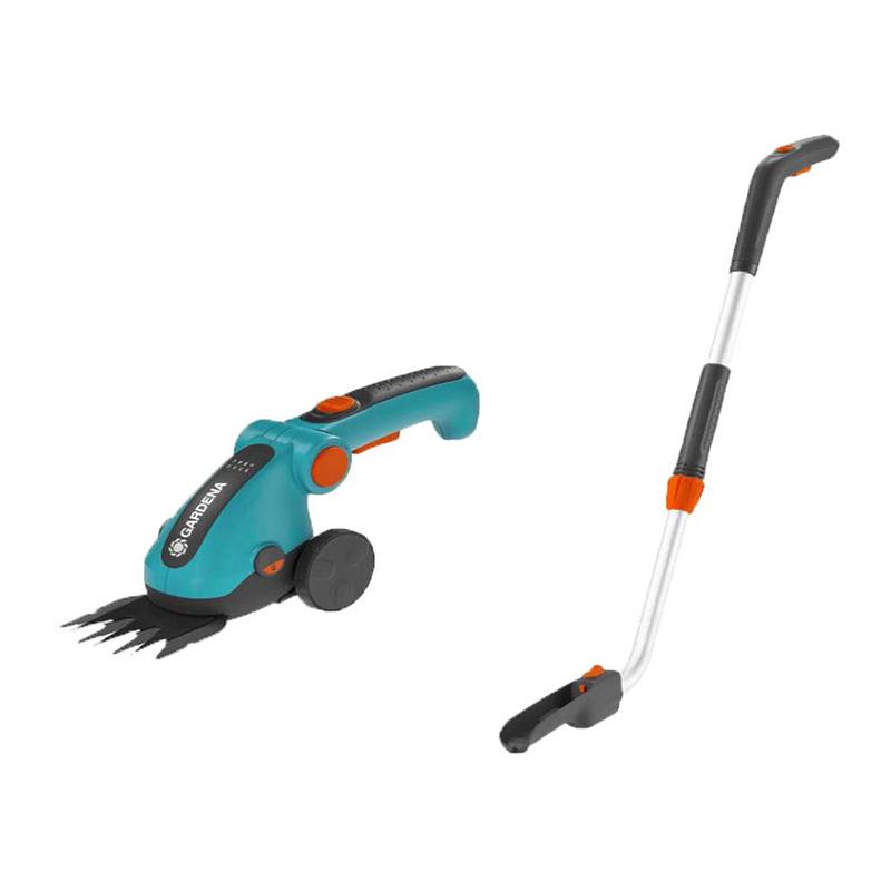 Máy cắt cỏ dùng pin kèm cán đẩy 120cm Gardena 09858-20