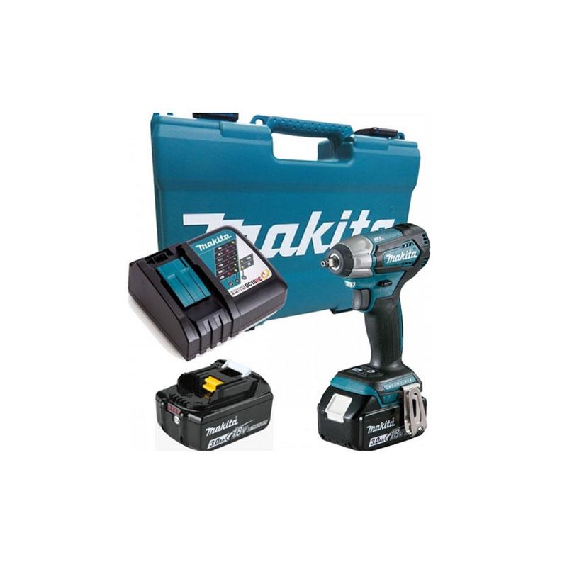 Máy bắt vít động lực pin 18V/3.0Ah Makita DTW180RFE