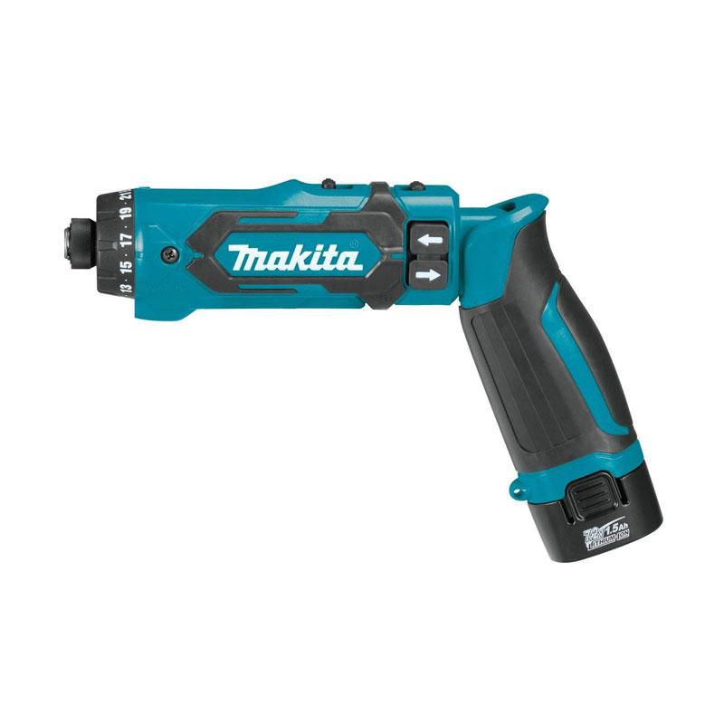 Máy vặn vít dùng pin 7.2V Makita DF012DSE