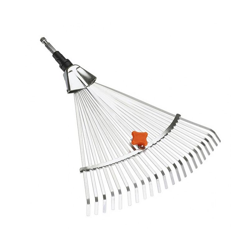 Đầu cào thu gom cỏ, lá điều chỉnh 30-50cm Gardena 03103-20