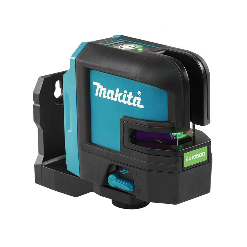 Máy cân mực 35m laser 2 tia màu xanh Makita SK105GDZ