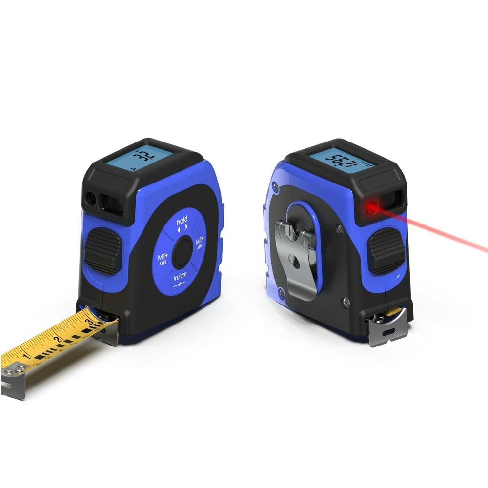 Thước cuộn đo điện tử 5m, laser 40m Koiss K4TM có đèn nền