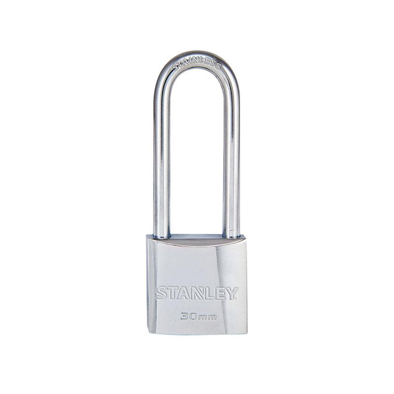 Ổ khóa Chrome trắng càng dài, rộng 30mm Stanley S742-015