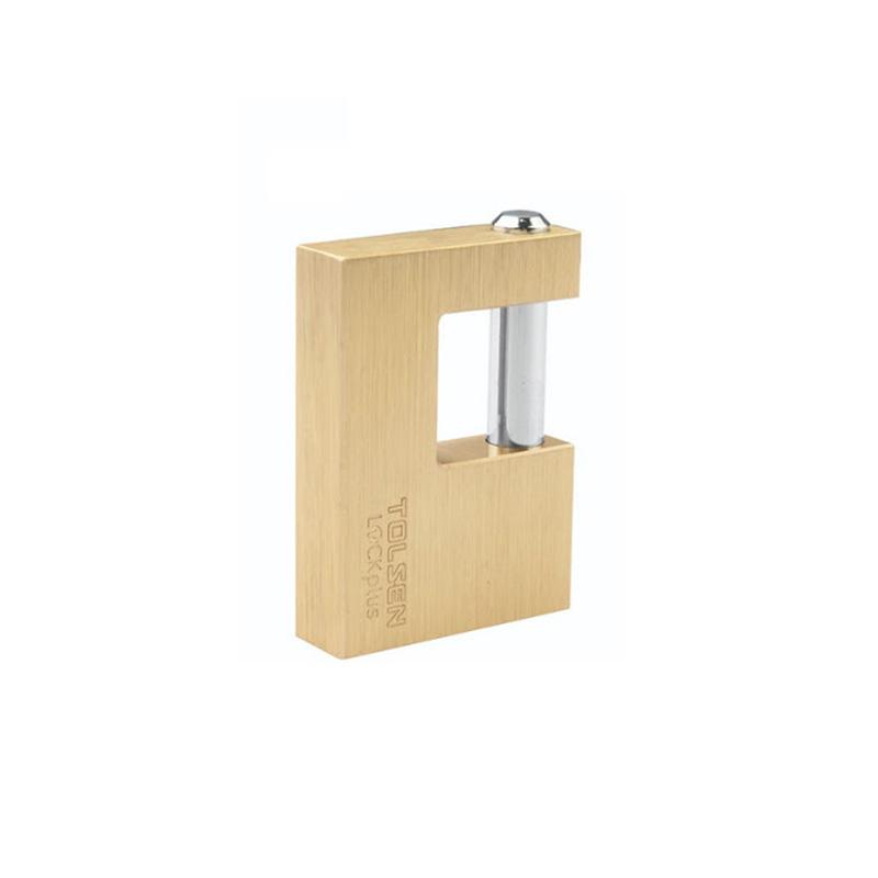 Ổ khóa đồng cầu ngang 80mm Tolsen 55128