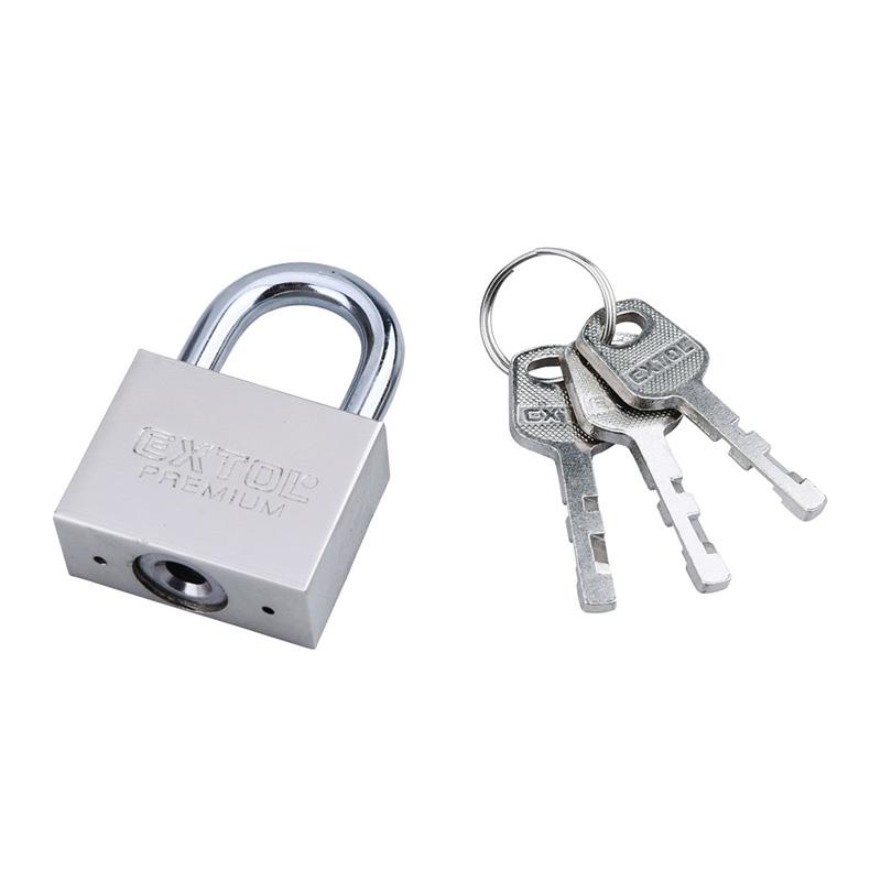 Ổ khóa sắt vuông 30mm EXTOL Tolsen 8857403
