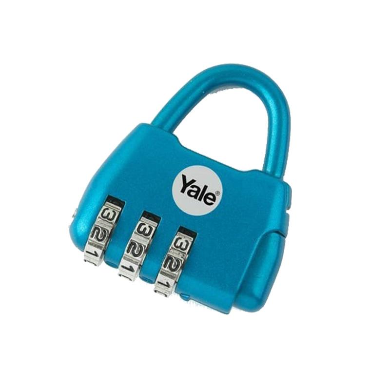 Khóa du lịch NOVELTY 3 số màu xanh Yale Y-NOVELTY-2B