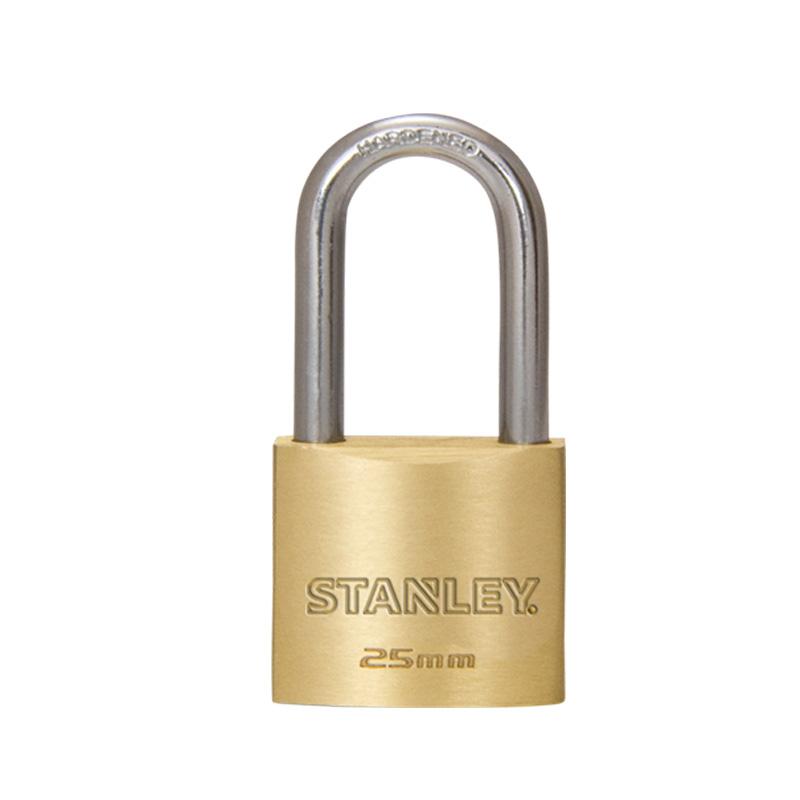 Ổ khóa đồng thau càng dài, rộng 25mm Stanley S742-041