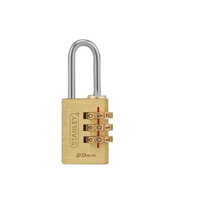 Ổ khóa 3 mã số rộng 20mm Stanley S742-050