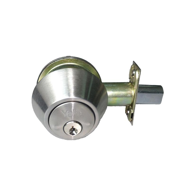 Khóa cóc 1 đầu chìa 1 đầu chốt vặn Yale V8111US32D